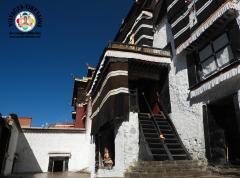 A l'intérieur du monastère de Tashilungpo
