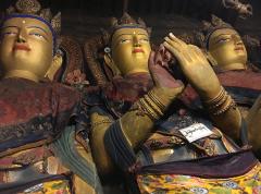 Déïtés au monastère de Pelkor Chode à Gyantse